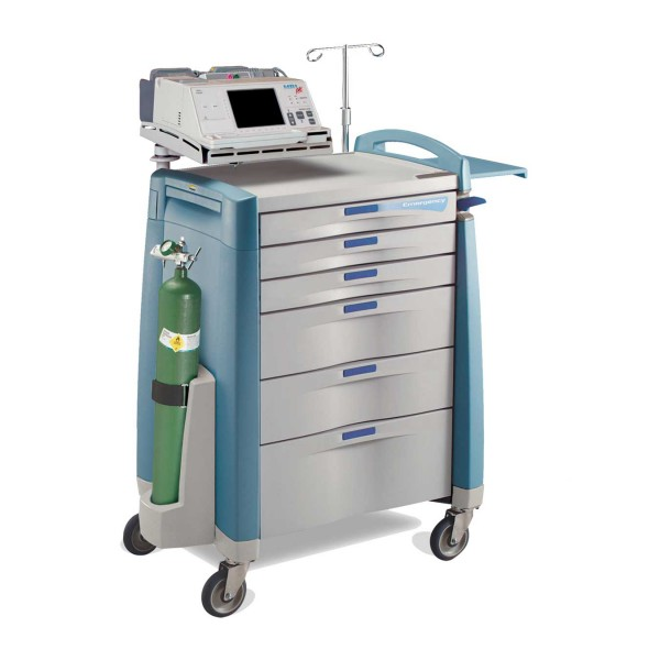 Capsa Emergency Cart Blue